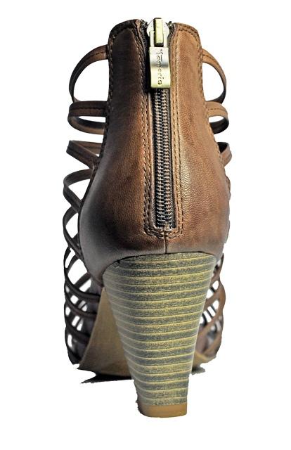 neu tamaris schuhe sandalen sandalette braun gr en. Black Bedroom Furniture Sets. Home Design Ideas